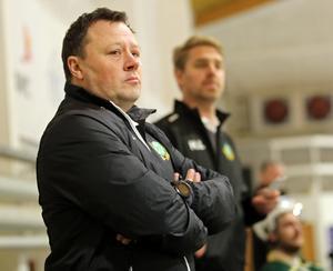 Göran Tärnlund håller tummarna för Surahammar på söndag.