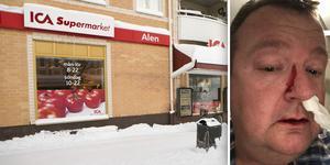 Under fredagen utsattes Ica-handlaren Anders Waller för en misshandel i sin egen butik i centrala Söderhamn.