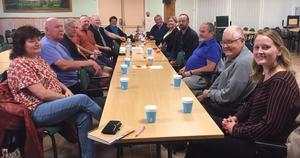Mötet var enigt om att Mellstaparken måste upprustas och Forum ska vara kvar som mötesplats! Foto: Annakarin Berglund/Läsarbild