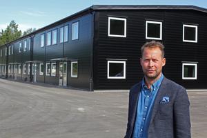 Andreas Fornell, förvaltningschef för Peritas.