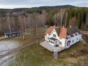 Disponentvillan vid Idkerbergets gruva är den mest klickade annonsen på Hemnet under vecka 37. Foto: My Friman/Svensk Fastighetsförmedling
