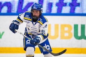Tidigare Modospelaren Brooke Boquist slog till med två mål mot sin gamla klubb. Bild: Daniel Eriksson/Bildbyrån