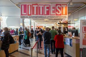 Det är valår vilket också märks i Littfests program.  Bild: Henke Olofsson
