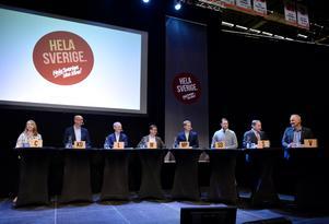 Vårdfrågor debatterades på Landstingsriksdagen. Bild: Erik Mårtensson/TT