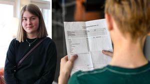 Isa Forsberg, MUF, tycker att kursplanen lämnar alldeles för stort tolkningsutrymme för läraren. Hon vill se tydligare anvisningar för vad eleverna ska lära sig och därmed också mer konkreta betygskriterier. Bilder: Privat / Anders Wiklund/TT