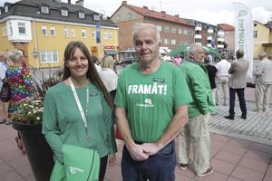 Sarah Hjälm tar sig in i fullmäktige tack vare personkryssen och Jan Karlsson tack vare att han stod som första namn på valsedeln.