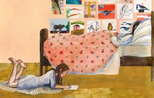 Foto: Sara Lundberg/Mirando BokSara Lundbergs berättelse är inspirerad av konstnären Berta Hanssons liv och riktar sig till läsare från tio år och uppåt.