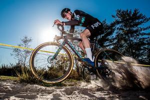 Martin Eriksson är svensk mästare i cykelcross och Sveriges enda representant i elitklassen när VM avgörs i Nederländerna i helgen. Foto: Privat
