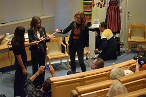 Riksarkitekt Helena Bjarnegård invigde Formveckan Dalarna.