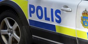 Polisen larmades om händelsen vid tio på lördagen.