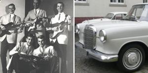 Orkestern The Coopers var med om en olycka på väg hem till Örnsköldsvik från en spelning i Sollefteå, i april 1965.