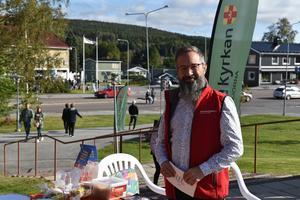 Björn Westerlund hoppas att Gullängetdagen kommer tillbaka varje år!