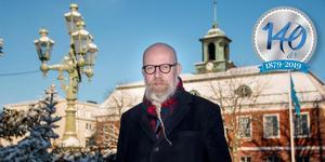 Daniel Nordström, chefredaktör och ansvarig utgivare för Sala Allehanda.