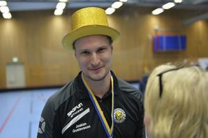 Tränaren Joakim Gustafsson.