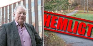 Göran Bergander (S) tycker att det är fel att nämnderna i Nynäshamns kommun har infört en generell regel som innebär att man betraktar alla tjänsteskrivelser som arbetsmaterial, fram tills att besluten är fattade.