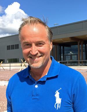 Gunnar Lenman är vd för Scandinavian Mountains Airport. Foto: Pressbild
