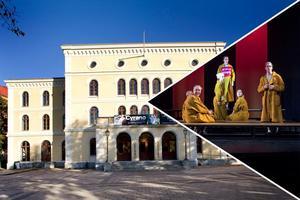 Örebro länsteater skapar utställningsplats inne på teatern – konstnärer ska skildra eller inspireras av deras föreställningar. Först att bli konst är