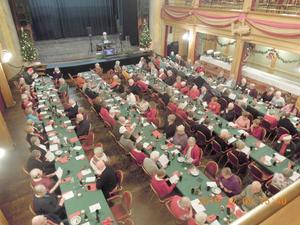 SPF Seniorerna i Östersund fyllda salongen på Gamla teatern. Foto: Sven Olof Andersson