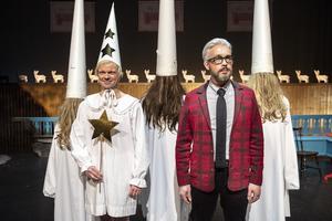 Olof Wretlings Mangan och Bengt Strömbro i rollen som ... Bengt Strömbro.  Foto: Pressbild