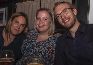 Fredrika, Ida och Filip. Foto: Fabian Zeidlitz