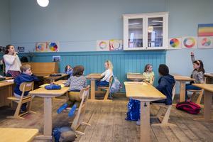 Individualiserad undervisning kännetecknar enhetsskolan. Heiko Junge/TT