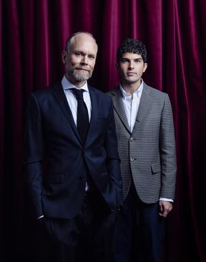 Scenkväll med Luuk och Daniel Hallberg. Foto: Morgan Norman