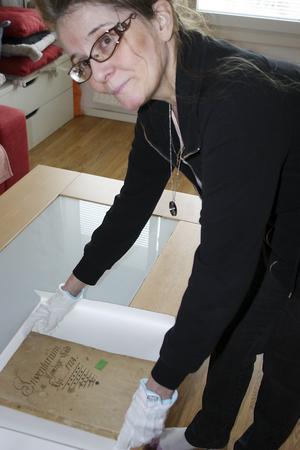 Irene Kimanus. Foto: Solveig S Thörnblom