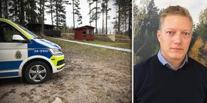 Efter vådaskottet som dödade en person kommer Norbergs jaktskytteklubb hålla skjutbanan stängd under en tid, säger ordförande Roger Johansson. Foto: Lova Jappevik, Privat