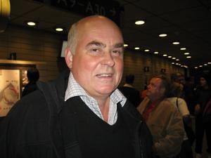 Göran Zetterberg, pappa till Henrik.