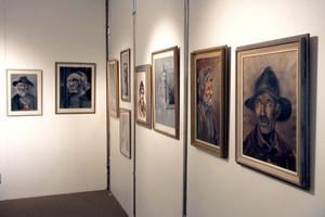 Under tiden 11 september-9 oktober visas porträtt, natur- och djurmålningar samt motiv från Gamla Stan och Söder i Stockholm i Edsbyns museum. Alla målade av Sigfrid Fries.