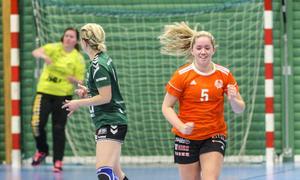 Maja Lindgren stod för sex av Strands totalt 31 mål mot Alfta.