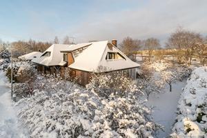 Huset ligger i Svartå-dalen nära Rocklunda. Foto: Panview