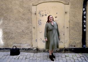 Foto: Janerik Henriksson/TT Maja Hagerman är aktuell med den nya boken