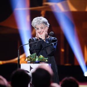 Skådespelerskan Yvonne Lombard får årets Hedersguldbagge vid Guldbaggegalan.