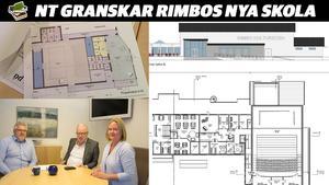 Biträdande samhällsdirektören Kenneth Eriksson och Olle Jansson (S) samt Ulrika Falk (S).