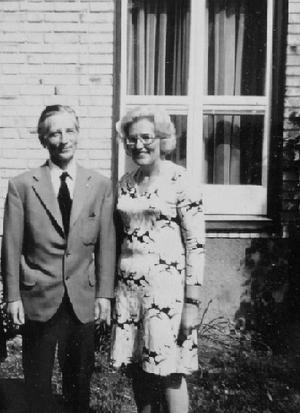 Margareta och Åke Hallqvist byggde huset 1954 och bodde i det resten av sina liv.