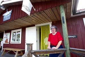 Calles Fisk i Fagerviken. Ewa Landfors har varit med varje år som På tur i Hållnäs funnits.