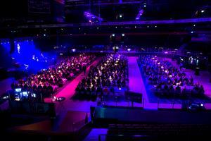 Företagsgalan lockar varje år många gäster till arenan.
