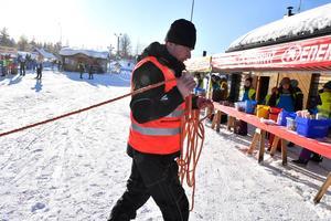 Glenn Broberg ny kontrollchef drar sitt första rep.
