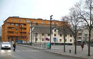Gamla rådhuset står vid Stora torget.