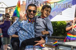 Mohammed Rabia är en av arrangörerna till Fagersta Pride.