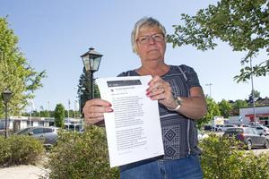 Rena lögner säger Laila Borger (S) om texten som har publicerats på Sverigedemokraternas facebooksida.
