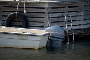 Båtmotorer lockar stöldligorna. Foto: Janerik Henriksson/TT