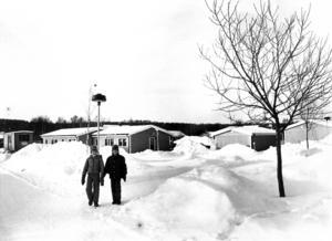 Svenstavik i vinterskrud 1983.