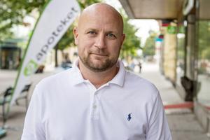 Christer Westerlund,43 år, säljare, Sundsvall: