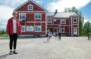 Sara Yngvesson är rektor på Gottne Byskola. Skolan startades av engagerade bybor när kommunen skulle stänga.
