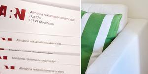 En kvinna i Ludvika får rätt av ARN i en tvist mot en möbelföretag.