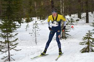 Erik Rost, Alfta-Ösa, vann både lördagens och söndagens tävling i Grönklitt. Foto: Johan Trygg.