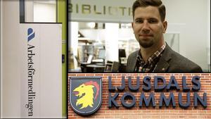 Fredrik Röjd tror inte på att Ljusdals kommun kommer kunna axla ansvar för delar av Arbetsförmedlingens service på något bra sätt. Bild: Carole Tärnudd