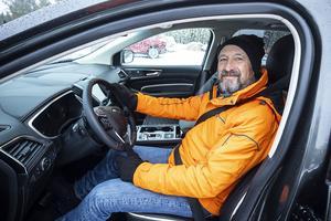 Motorjournalisten Victor Piccione, från Madrid i Spanien har tidigare varit i Sverige och testa bilar. Han är överväldigad av naturen i Åredalen och hoppas att fler bilmärken ska hitta till Jämtland. Han ser fram emot ett nytt besök snart.